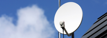 Stratford Aerials - Digital, Television, Satellite and Sky Aerial Specialists - Image of satellite dish
